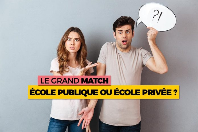 Ecole publique VS école privée : le grand match