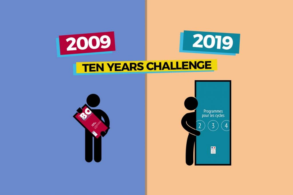 Le Ten Years challenge des enseignants